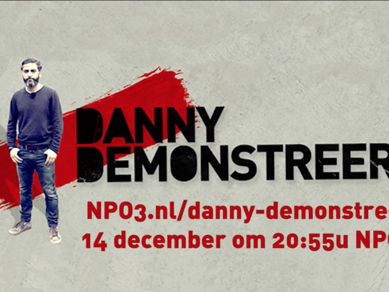 Danny Demonstreert